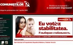 Kommunistpartiets hemsida