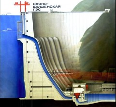 Kraftverket Sajano-Sjusjenskaja