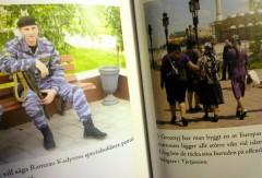 Gatubilder från Groznyj i Anna-Lena Lauréns bok.