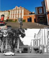 Ingången till universitetsområdet 1989/2009