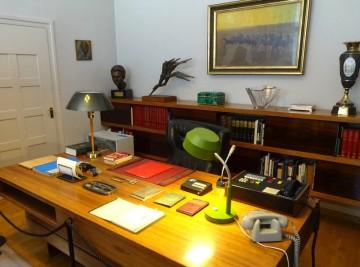 Presidentens skrivbord.