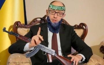 En annan variant av Jatsenjuk som islamist.