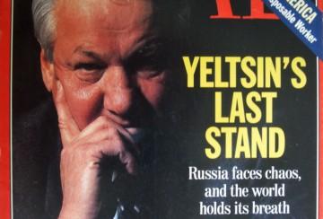 Jeltsin på omslaget till Time 1996.