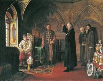 Metropoliten Filipp och Ivan den förskräcklige. Målning av J. Turlygin.
