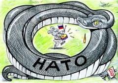 Ryssland omringas av Nato