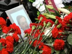 Sergej Magnitskijs grav. Foto: Novaja Gazeta