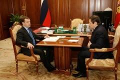 Medvedev och Chloponin. Foto: Kremlin.ru