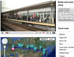 Googles transsibiriska järnväg