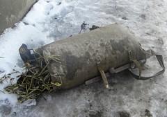 En säck med ramslök som tillhörde en av de avrättade.