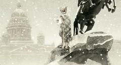 Kattpoeten Brodskij i sin gamla hemstad.