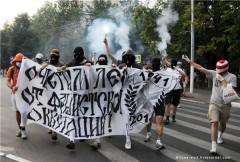 Anarkister i Chimki den 27 juli 2010.