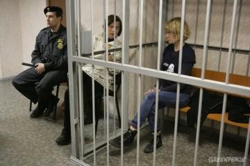 Sini Saarela, At The Leninsky District Court Of Murmansk