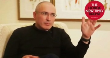 Chodorkovskij intervjuas av Jevgenija Albats.