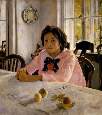 Valentin Serov: Flickan med persikorna, 1887.